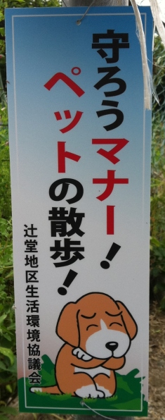 Funny japanese street signs dog 38