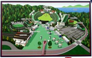 Japan tourist park map funny sign 39